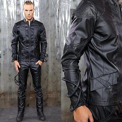 LIP SERVICE Quarantine Ground Zero Cyber Jacket Vegi-Leather GOTHIC VK
