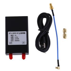 150K-30MHZ-HF-Upconverter-For-RTL2383U-SDR-Receiver-Aluminum-Case-KTP