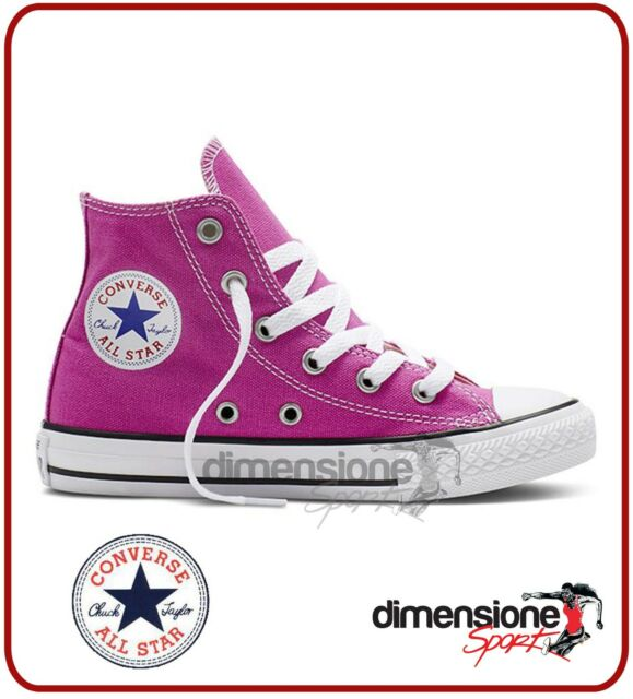 all star converse bambina rosa