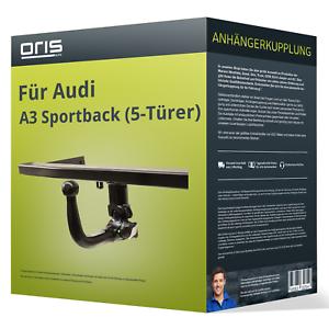 7-pol E-Satz spez Anhängerkupplung abnehmbar Audi A3 5 Tür Sportback 08-13