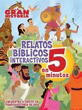 RELATOS BFBLICOS INTERACTIVOS EN 5 MINUTOS / THE BIG PICTURE INTERACTIVE BIBLE S