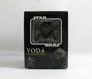 100% De Qualité 2005 Vintage Star Wars ✧ Yoda ✧ Gentle Giant Esb Buste En Parfait état, Dans Sa Boîte-afficher Le Titre D'origine ExtrêMement Efficace Pour Conserver La Chaleur