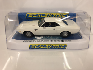 Scalextric C3935 Dodge Challenger White 1 32 Scale New Boxed