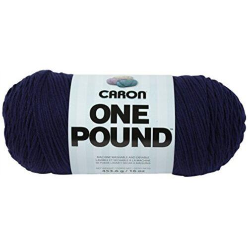 - CARON une livre solides Fil - 16 oz environ 453.58 g 4 Medium Gauge 100/% Acrylique