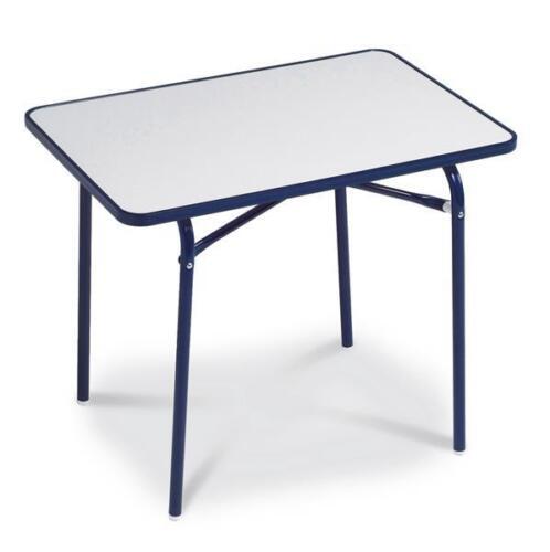 Enfants Table De Camping Table pliante Best 60x40cm Bleu