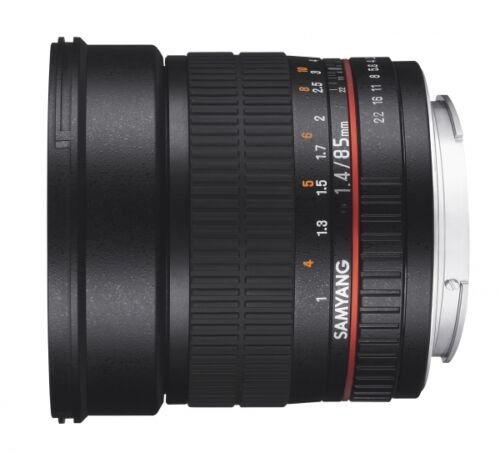 Samyang-1-4-85-mm-AS-IF-UMC-Objektiv-fuer-Nikon-Neuware