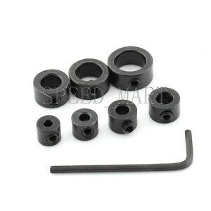 1PC Drill Bit Shaft Depth Stop Collars Ring 3mm Woodworking Wood Drills