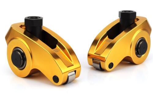 Comp Cam 19002-16 Ultra-Gold Aluminum Roller Rocker Arm Sbc 1.6 Rockers 3//8 Stud