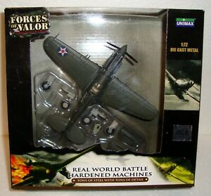 Forces-Of-Valor-UNIMAX-Curtiss-P-40B-WARHAWK-Pearl-Harbor-Die-Cast-Aircraft-1-72