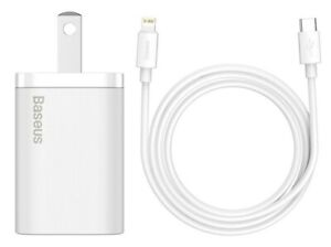 Baseus Super Si Quick Charger TYPE-C 20W For iPhone 12 Mini 12-12 Pro 12 Pro Max