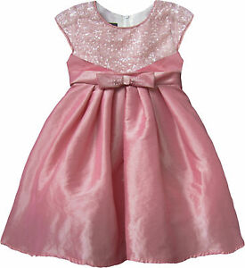 15673e8bdc7 Isobella & Chloe Baby & Toddler Girls Party Dress Pink Sequin 12M ...