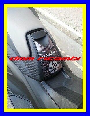 PROTEZIONE SPORTELLO SERBATOIO Yamaha Tmax 530 ADESIVO 3D CARBON-ERGAL 2012-2016