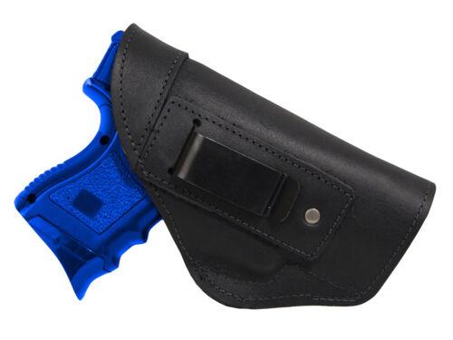 NEW Barsony Black Leather IWB Gun Holster for Paraordnance Compact 9mm 40 45