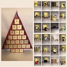 OOAK CUSTOM CHRISTMAS ADVENT CALENDAR FOR HARRY POTTER FANS INCLUDES 24+ GIFTS
