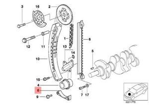 Details about Genuine BMW E34 E36 E46 Z3 Cabrio Compact Timing Chain Rail  OEM 11311734694