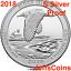 2018-S-REVERSE-Block-Island-National-Seashore-90-Silver-Proof-Park-Quarter-ATB thumbnail 2