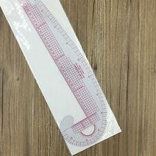 3 in 1 Kurvenschablonen Kurven Schablone Kurvenschablone Kurven-Lineal 47*13.5cm