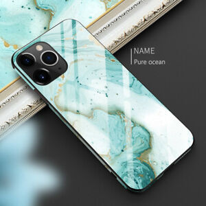 For-Apple-iPhone-11-Pro-XS-XR-Max-8-Luxury-Marble-Tempered-Glass-Thin-Case-Cover
