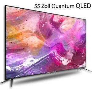 NEUHEIT-QLED-Quantum-Fernseher-55-Zoll-UHD-LED-Neuware-DVB-T2-C-S2