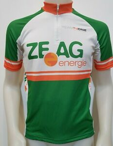 Maglia Shirt Ciclismo Team 4 One Tag.m Cycling Italy Bike Bici Strada Mbk Es560