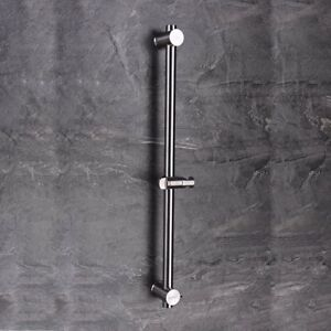 Image Is Loading Stainless Steel Bathroom Hand Shower Slide Bar Adjule