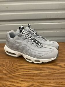 Details about Nike Air Max 95 SE Wolf Grey Men's Size 9.5 EUR 43 Running Shoes Sneakers Casual