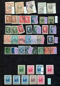 ALBANIA-Early-Mid-M-amp-U-Collection-Appx-70-Items-ZY-565