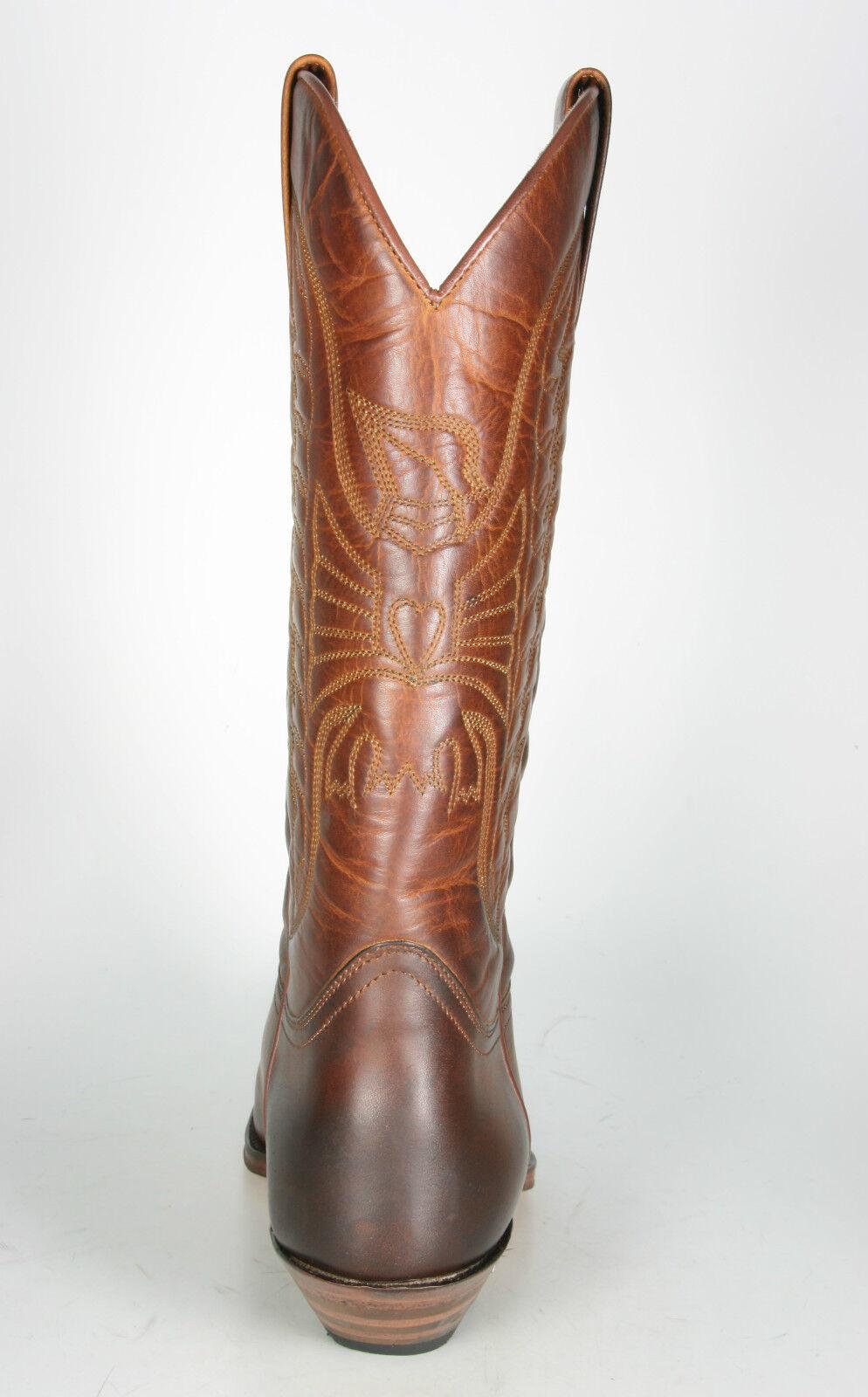 2073 Sendra Boots Cowboystiefel Evolution Rahmengenähte Lederstiefel