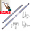Home-Pull-up-bar-Door-Horizontal-440lbs-Adjustable-Home-Gym-Workout-Push-Up-Gym thumbnail 1