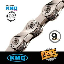 KMC X9.99 116Link 9Speed Chain with Missing Link for Road / MTB Bike