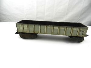 Vintage HO BALTIMORE OHIO B&O Gondola Car #25-4000 Train Gray MAR Toys Railroad
