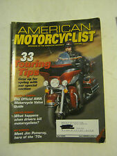 April 2002 American Motorcyclist Magazine -  33 Touring Tips (BD-23)