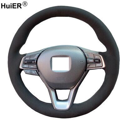 Ramecar for Honda Accord 10th 2018 2019 2020 Steering Wheel Cover Trim Red 2pcs