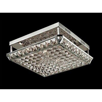 Dale Tiffany Ibiza Crystal Flush Mount Polished Chrome Gh13342 20258131264 Ebay
