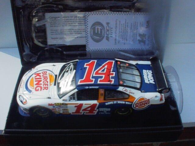 moda 2009 Tony Stewart Burger King 1 24 Elite Firmado    2011 Sprint Cup Champion  1 303  punto de venta barato