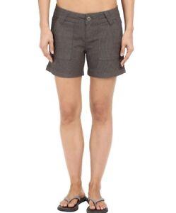 Prana grigio Pantaloncini scuro Cotone Tess grigio Denim s antracite 6 organico UqXdw1XH