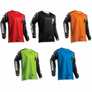 Thor-Adults-Sector-Zones-MX-Motocross-Enduro-Quad-Off-Road-Bike-Jersey-NEW-2018