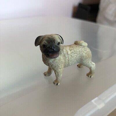 New RETIRED Schleich Dog FEMALE PUG #16382