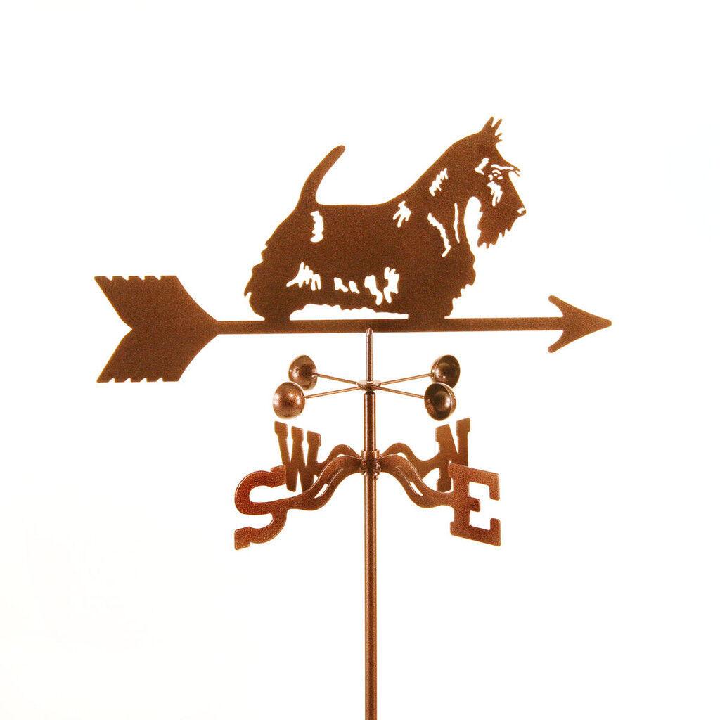Dog - Scottie Weathervane, Vane - Scottish Terrier - Complete w/ Choice of Mount
