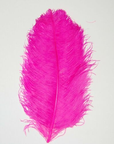 """OSTRICH FEATHER PLUMES 23/""""-28/"""" Full Wing Various Colors Bridal//Wedding//Halloween"""