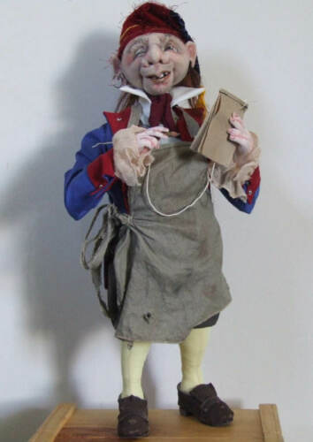 """PATTERN /""""THE INNKEEPER/"""" BY SHARON MITCHELL *NEW* CLOTH ART DOLL PAPER"""