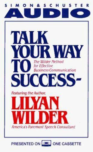 Talk Your Way to Success Cassette by Wilder, Lilyan