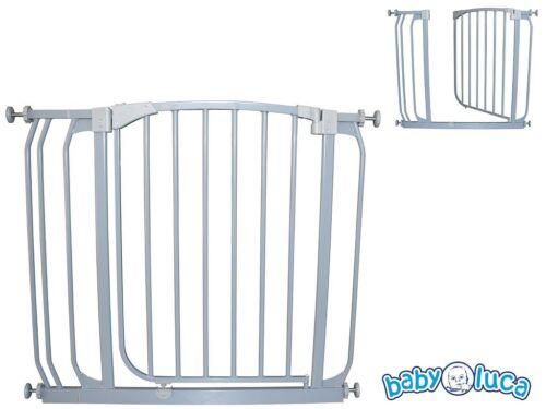 Türgitter escaliers Grille de protection barrière métal 81,5-92,5 cm AUTOCLOSE