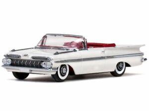 CHEVROLET Impala - open - 1959 - white - Vitesse 1:43
