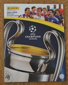 Panini Champions League 14/15 Album Leeralbum Sticker 2014/2015