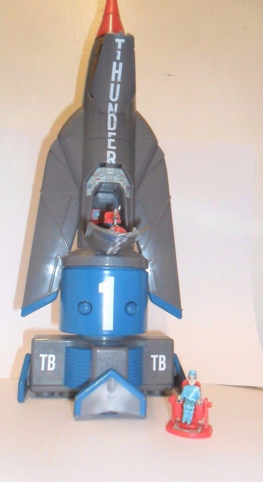 1 Raro Clásico Gran Tamaño THUNDERBIRD 1 complete todos los accesorios y figura