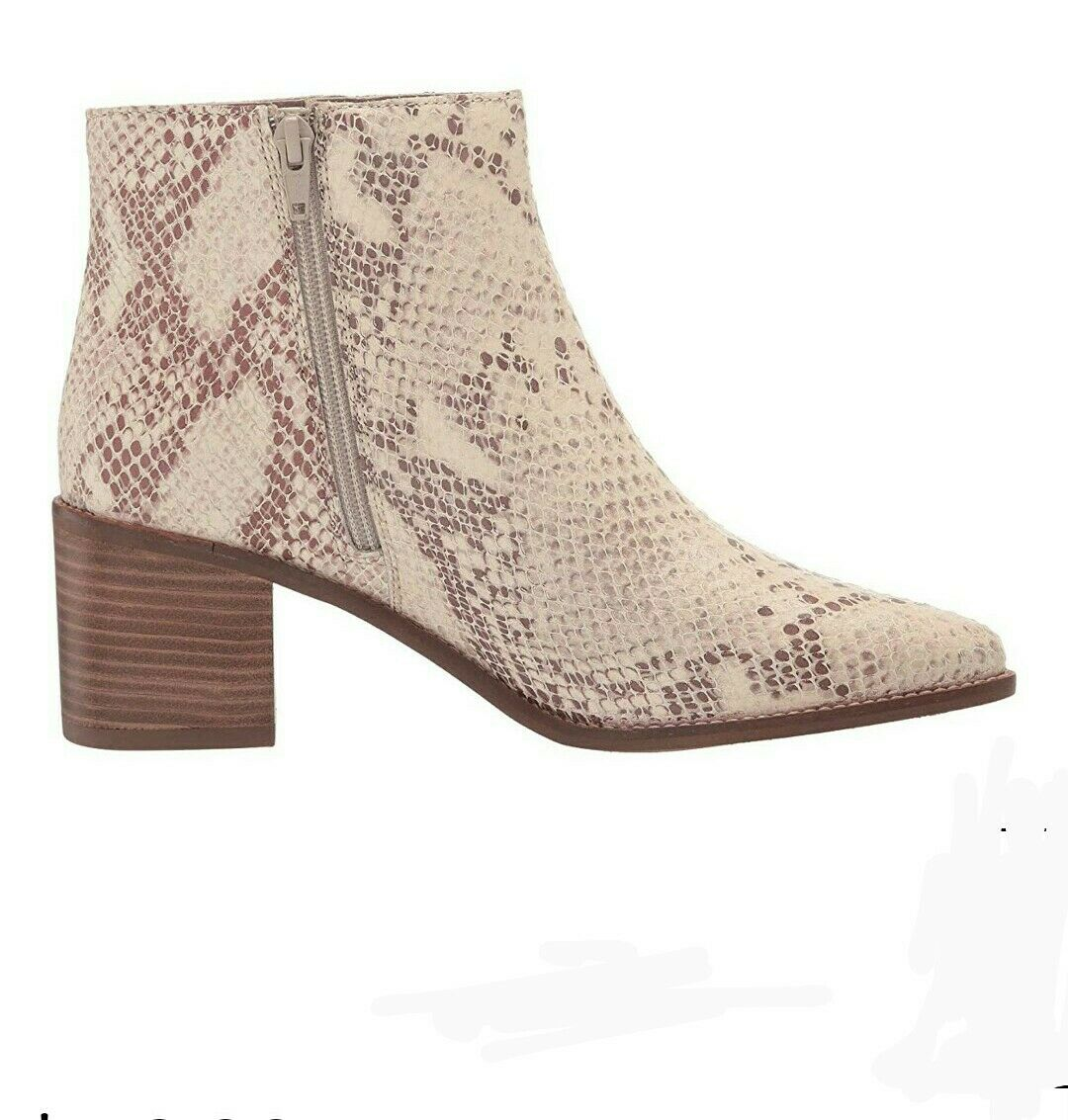 NEW Seychelles Women's for The Occasion leather Boot, Natural Exotic, Size 8.0