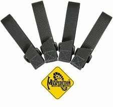 MAXPEDITION TAC TIE STRAP SET OF FOUR - 3 INCH - FOLIAGE GREEN, MX9903F