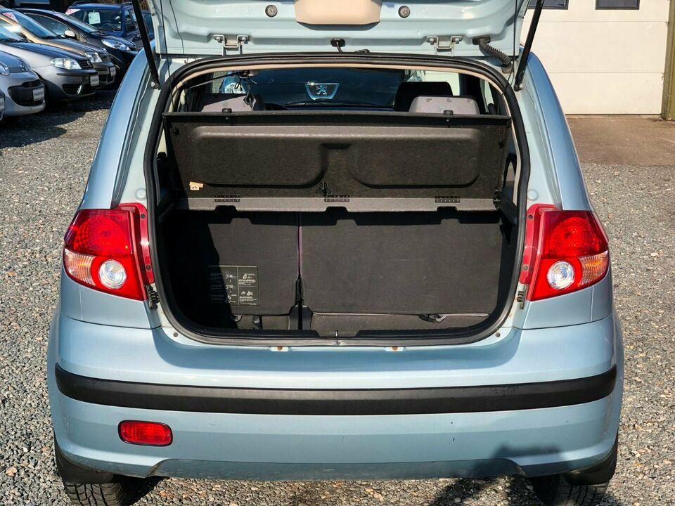 Hyundai Getz 1,3 GL aut. Benzin aut. modelår 2005 km 125000