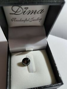 2-91-ct-ONE-ROUND-BRILLIANT-CUT-BLACK-DIAMOND-WITH-VALUATION-CERTIFICATE